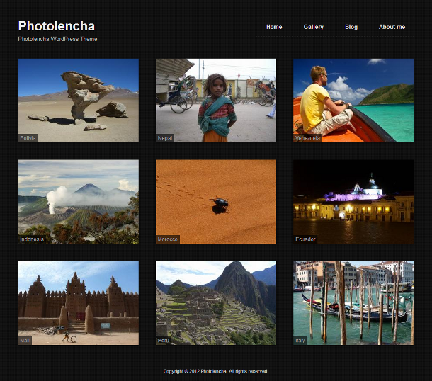 Photography theme: Photolencha